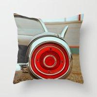 Thunderbird details Throw Pillow