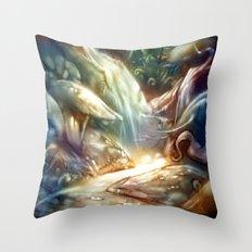 Elfindor Throw Pillow
