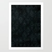 Victorian Onyx Art Print