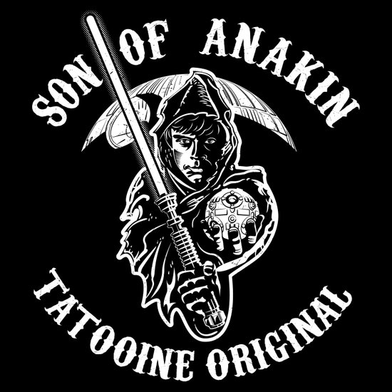 Son of Anakin Art Print
