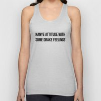 Attitude And Feelings Unisex Tank Top
