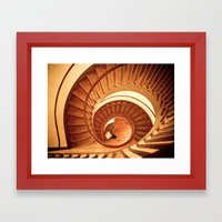 A Cornucopia of Stairs Framed Art Print
