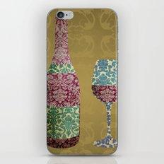 Vintage Wine iPhone & iPod Skin