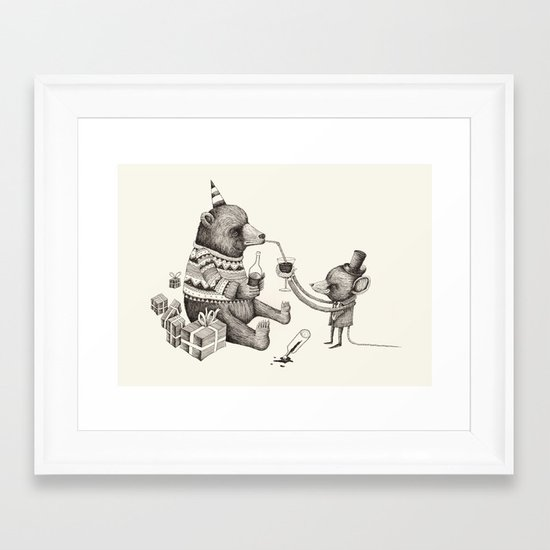 'Excessmas - Part 1' Framed Art Print