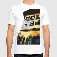 Paint Work Mens Fitted Tee White SMALL