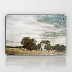 Little Blue Church Laptop & iPad Skin