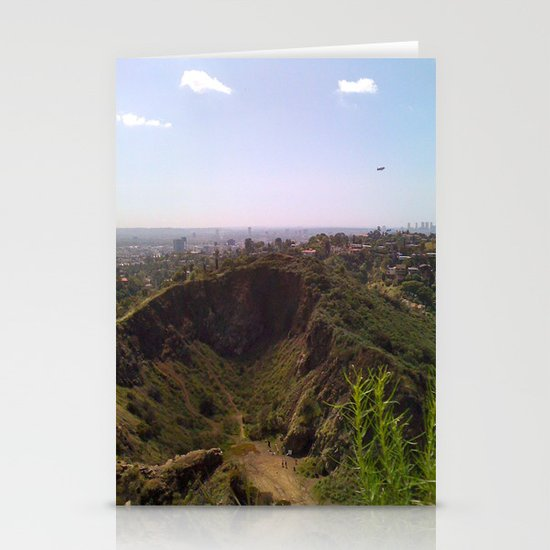 This is Los Angeles Stationery Card