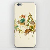 Critters: Summer Gardeni… iPhone & iPod Skin