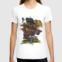 InkyBugs Womens Fitted Tee White SMALL