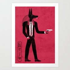 Reservoir God Art Print