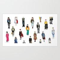 Japanese Street Snap Art Print
