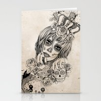 Sugar Skull Queen Stationery Cards