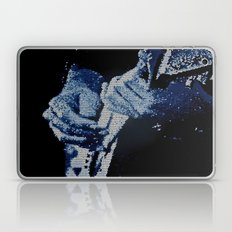 Mosaic Blues Laptop & iPad Skin