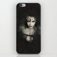 Queen of Shadows iPhone & iPod Skin