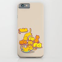 iPhone & iPod Case featuring cats ! by parisian samurai studio