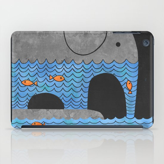 Thirsty Elephant  iPad Case