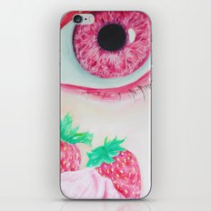 Strawberry Delight iPhone & iPod Skin