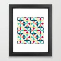 FloralGeometric Framed Art Print