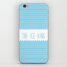 the ice king pattern...mathamatical! iPhone & iPod Skin