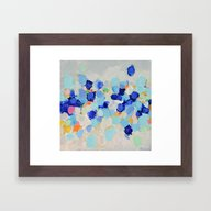 Amoebic Party No. 1 Framed Art Print