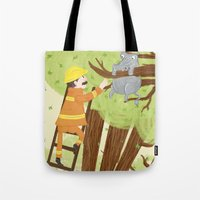 Hippocatomus Tote Bag