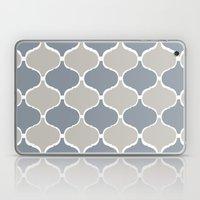MARRAKECH PATTERN GreyBlue Laptop & iPad Skin