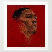Damian Lillard Art Print