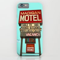 iPhone & iPod Case featuring Classy motel sign by Vorona Photography