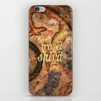 Travel Spirit #10 iPhone & iPod Skin
