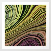 Mineralicious~Colors Of … Art Print