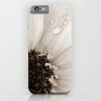 Flower with droplets iPhone 6 Slim Case