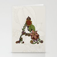A is for... Stationery Cards