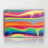 Laptop & iPad Skin featuring The Melting by Joe Van Wetering