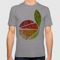 Grow Up Mens Fitted Tee Athletic Grey SMALL
