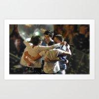 One Direction Madison Square Garden MSG 2 Art Print