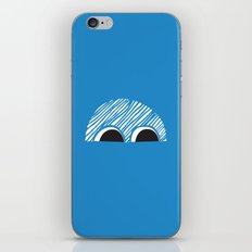 Block Eyes iPhone & iPod Skin