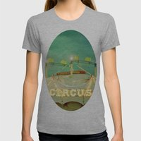 Circus II Womens Fitted Tee Athletic Grey SMALL