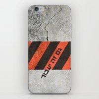 This Too Shall Pass #2 - Urban Design iPhone & iPod Skin