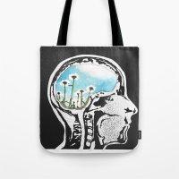 Brain Flowers Tote Bag