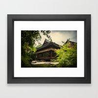 Kyoto Hideaway  Framed Art Print