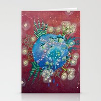The Planet Of The Lights Stationery Cards