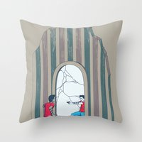 Self Conflict Throw Pillow