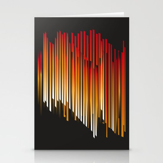 fire Stationery Card