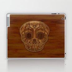 Wooden Sugar Skull Laptop & iPad Skin