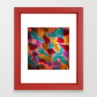 Teeming Framed Art Print