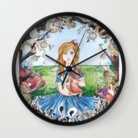 Just Ask Alice ..... Wall Clock