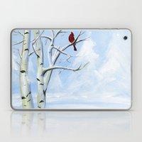 Snow Cardinal Laptop & iPad Skin