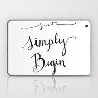 Simply Begin Laptop & iPad Skin