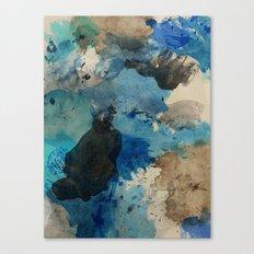 Secret Mediterranean Beach Canvas Print