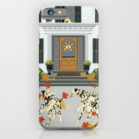 Autumn leaf game iPhone 6 Slim Case